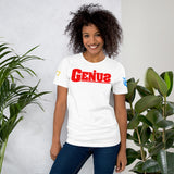 """Genius"" Short-Sleeve Unisex T-Shirt"