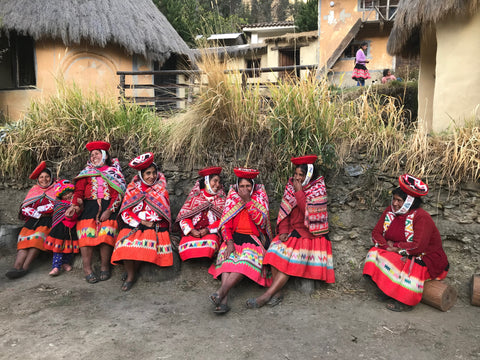 women of Patacancha Peru