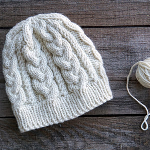 Cable Hat - Virtual Class | December 5, 2020