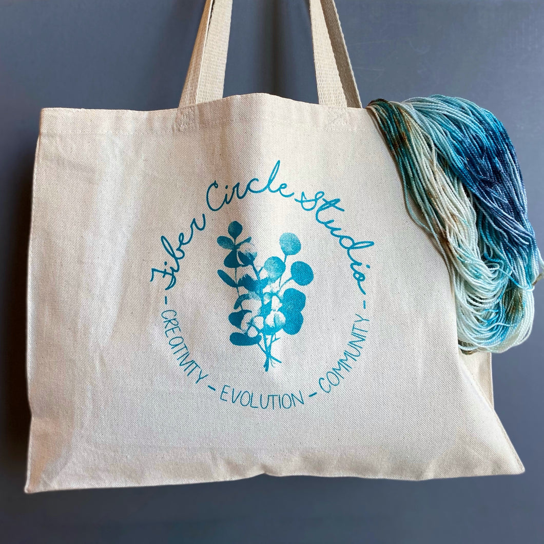 Fiber Circle Studio Tote Bag
