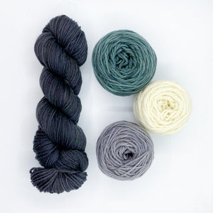 Midnattsol Colorwork Hat YARN Kit