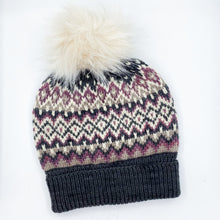 Load image into Gallery viewer, Midnattsol Colorwork Hat YARN Kit
