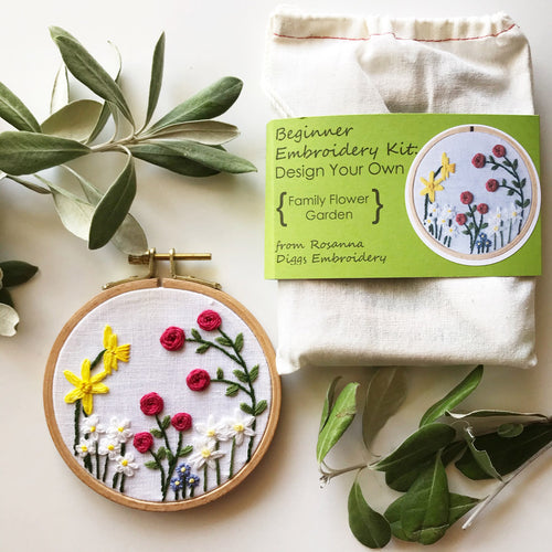 Embroidery Kits | 8 Styles