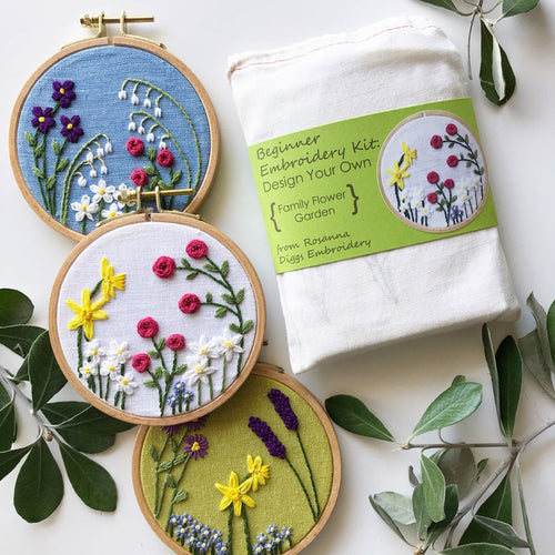 Intro to Embroidery - Virtual Class | October 10, 2020