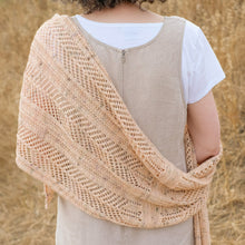 Load image into Gallery viewer, Casement Wrap | Yarn + Pattern Kit | Sun & Fog Collection