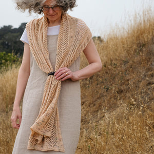 Casement Wrap | Yarn + Pattern Kit | Sun & Fog Collection