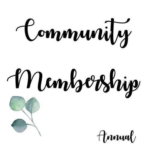 Community Membership (Annual)