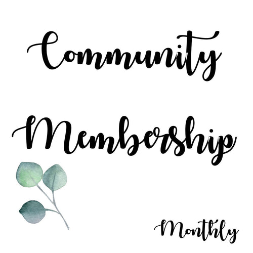 Community Membership (Monthly)