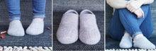 Load image into Gallery viewer, Knit + Felt Slippers - Virtual Class | Jan 9 - 23, 2021