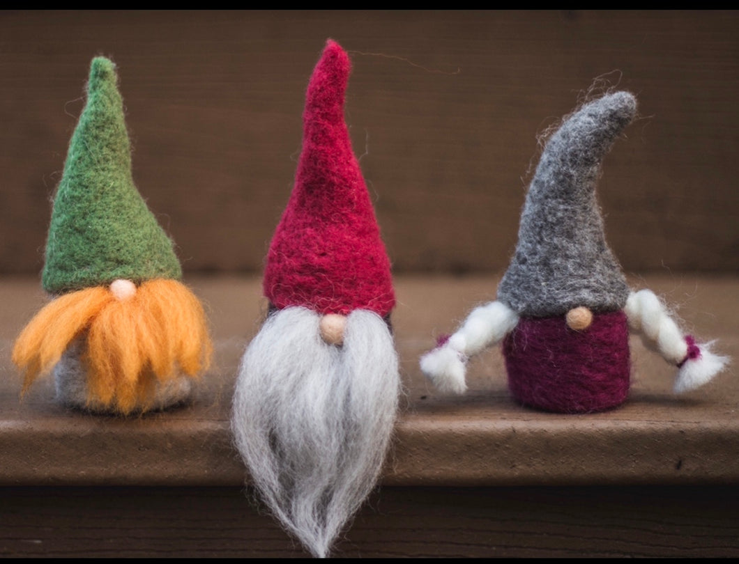 Needle Felt A Gnome Kit