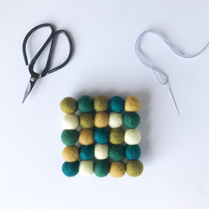 Felt Ball Coaster/Trivet - Virtual Class | November 13