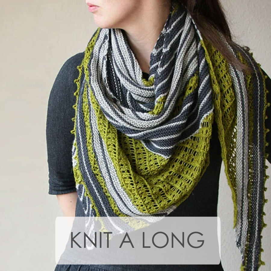 Melanie Berg Knit-A-Long | April 23 - May 14, 2021