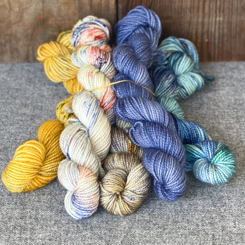 FCS Scrumptious Sock - Mini Skeins (Set of 5)