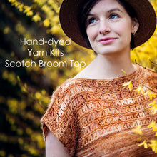 Load image into Gallery viewer, Scotch Broom Spring Top Yarn Kit