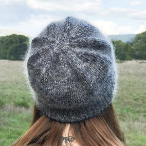 Silver Lining Hat Kit (Yarn, Needles + Pattern)