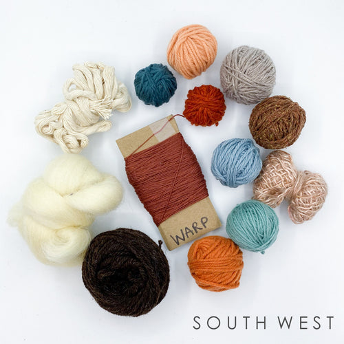 Tapestry Weaving Yarn Kits