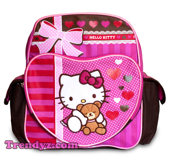 Hello Kitty Toddler Medium School Backpack 12""