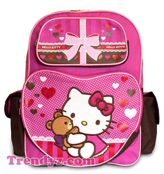 Hello Kitty Large School Backpack 16""