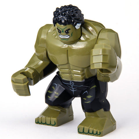 Custom Bricks The Incredible Hulk Avengers Infinity War SuperHeroes Minifigure Lego compatible