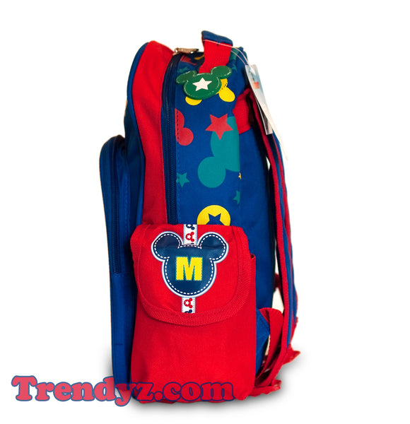 Disney Mickey Mouse - Mickey & Goofy, Toddler Medium School Backpack 12""