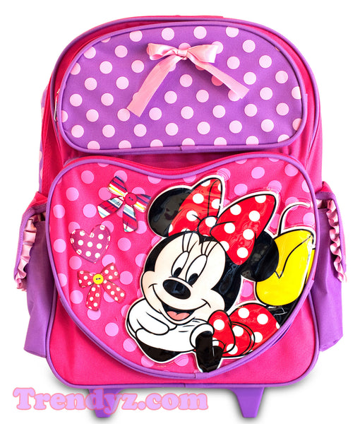 Disney Minnie Mouse - Minnie Mouse Large Roller School Backpack 16""