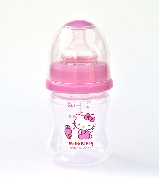 Sanrio Hello Kitty Baby Wide neck Pp Feeding Bottle 4.7 Oz. / 140ml BPA Free
