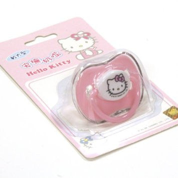 Copy of Sanrio Hello Kitty Baby Pacifier Pink for baby girl (Comes with Cover)