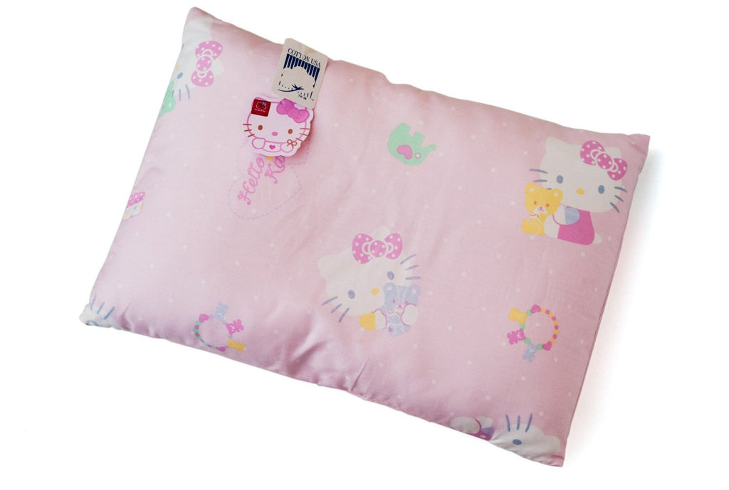 "Sanrio Hello Kitty Baby Toddler Pink Pillow 100% Cotton 10"" x 15"" by Sanrio"