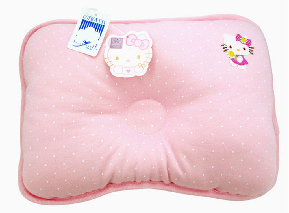 "Hello Kitty Baby Pink Pillow 12.5"" x 9"" by Sanrio"
