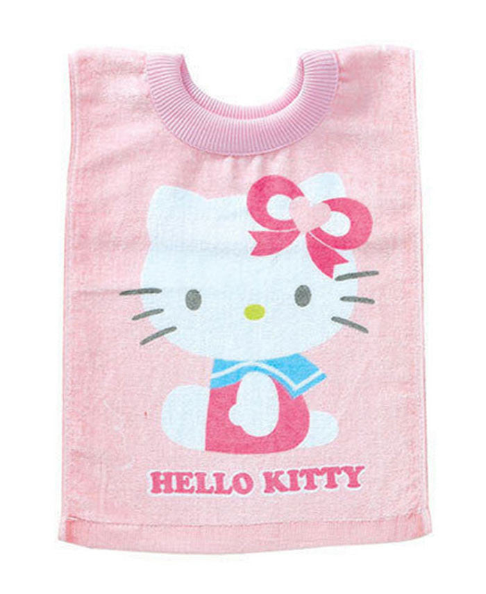 Sanrio Hello Kitty Baby Toddler Pink Pull-over Cotton Versatile Towel Bib