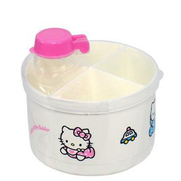 Sanrio Hello Kitty Baby Powdered Milk Formula Dispenser. BPA Free