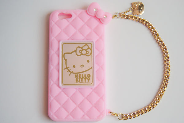 Trendyz Hello Kitty Iphone 6 PLUS Silicone Case with Genuine Swarovski Crystals