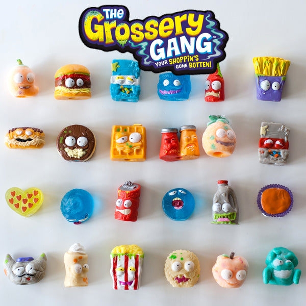 Lot of 12pcs Random The Grossery Gang Kids Toys NO DUPLICATES