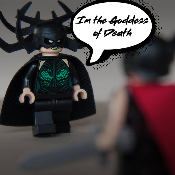 Custom Bricks Hela Goddess of Death in Thor Ragnarok Avenger Infinity War Minifigure Lego compatible