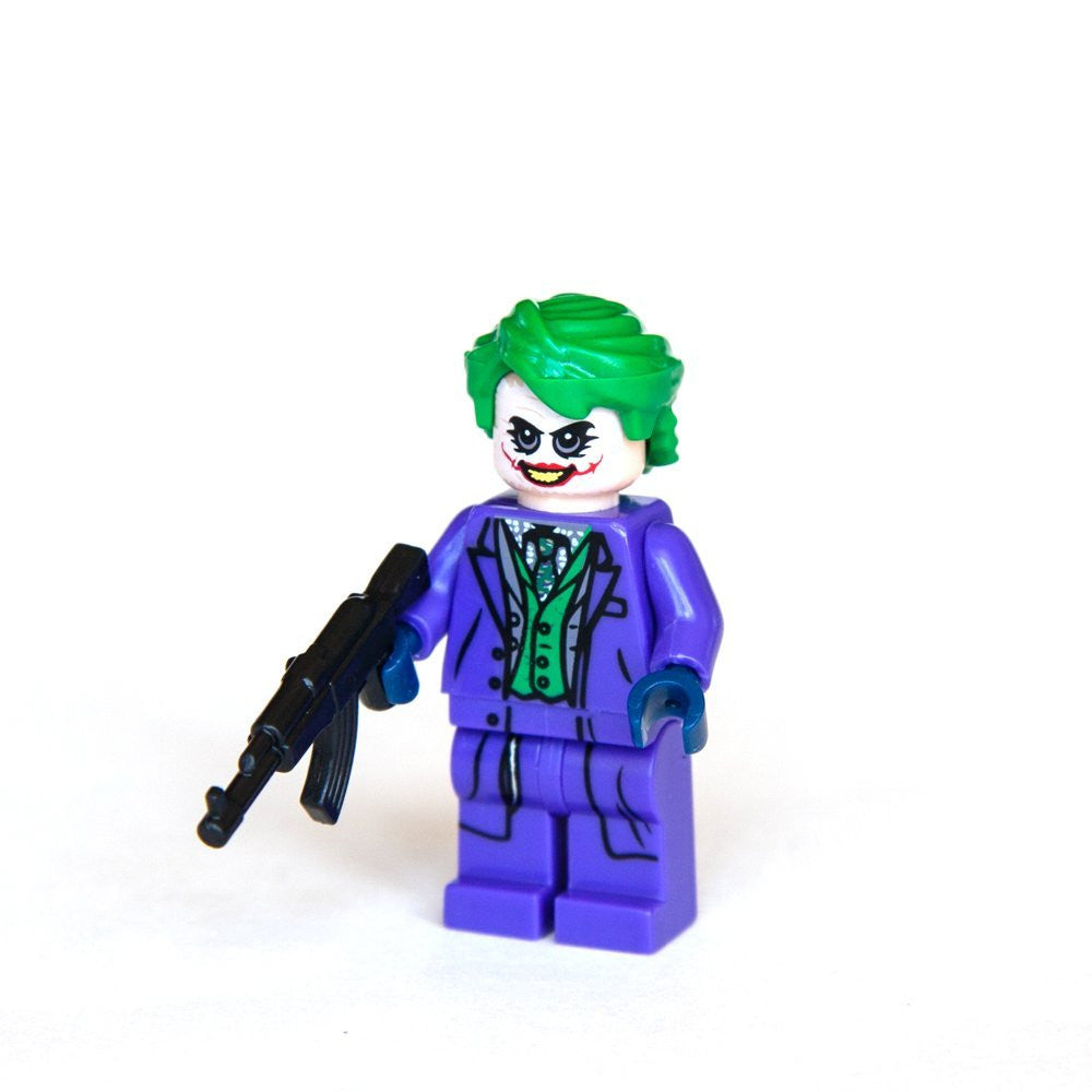 Custom Bricks The Joker From Dark Knight Minifigure Building Blocks Collection Lego compatible
