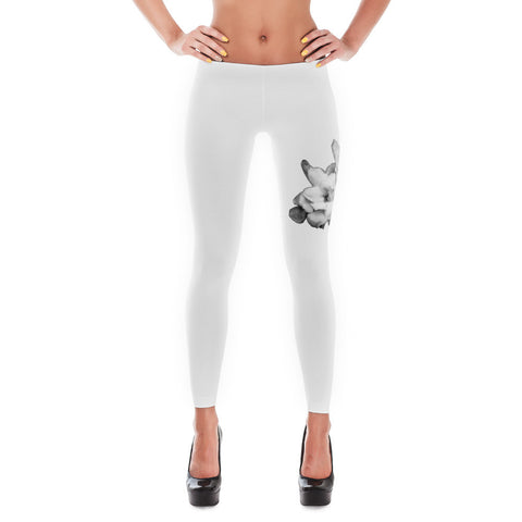 Gardenias White Leggings Design in California