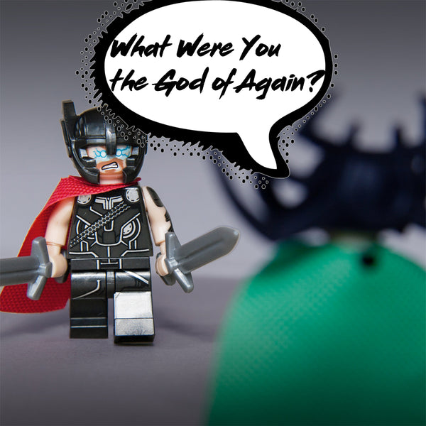 Custom Thor Ragnarok Avenger Infinity War Building Blocks Minifigure Lego compatible