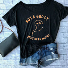 Load image into Gallery viewer, Not a Ghost Glow in the Dark Tshirt