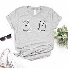 Load image into Gallery viewer, Cute Ghost Tits Women Tshirt Available in 3 colours