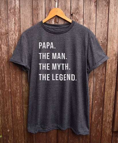Funny Papa Shirt, choose from 4 colours.