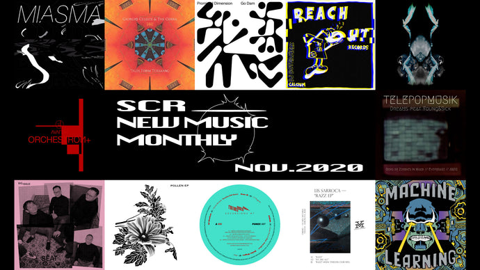 SCR New Music Monthly: November 2020