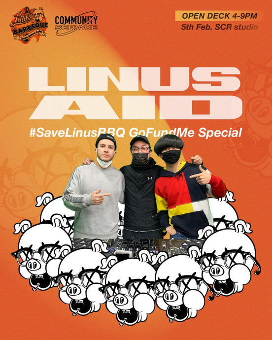 #SaveLinusBBQ Fundraiser Live this Friday