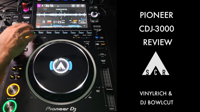 New Pioneer CDJ-3000 Preview with VinylRich & DJ Bowlcut