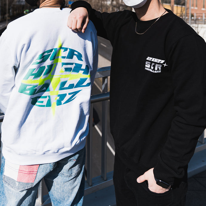 SCR Sweatshirts Black - Limited Edition Highballerz