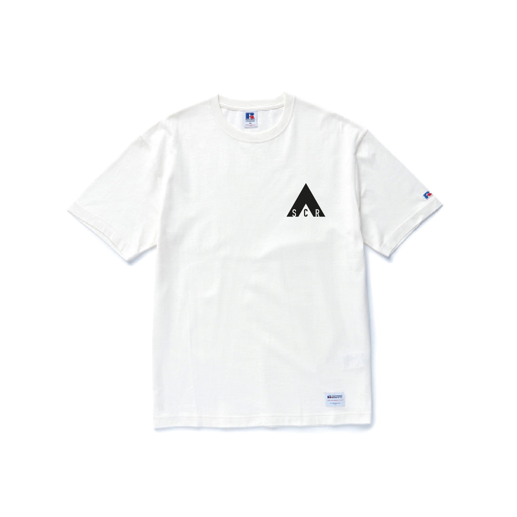 Basic Logo T-shirt -Russell Athletic White