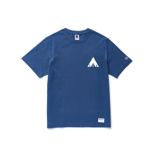 Basic Logo T-shirt -Russell Athletic Dusty Blue