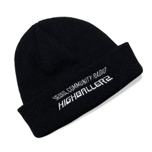 Load image into Gallery viewer, SCR Short Beanie Black - Limited Edition Highballerz