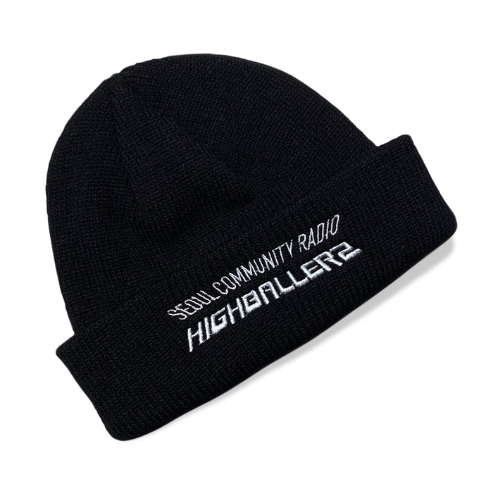 SCR Short Beanie Black - Limited Edition Highballerz