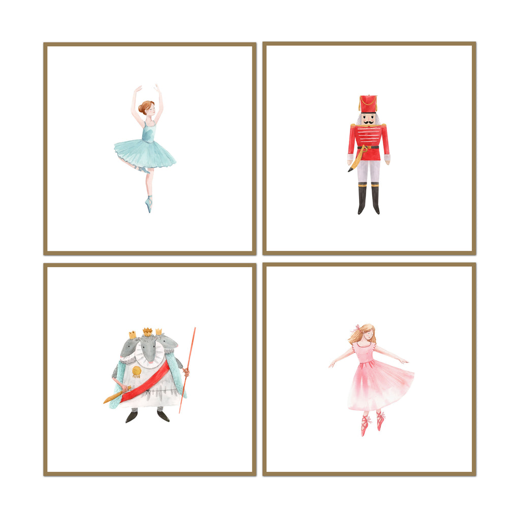 Nutcracker Set of 4