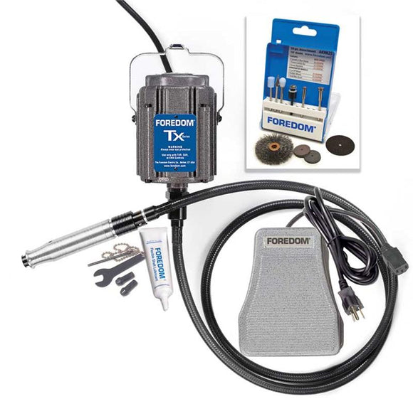 Foredom K.TXH440 Industrial Kit with Square Drive Shafting With no Motor Hanger